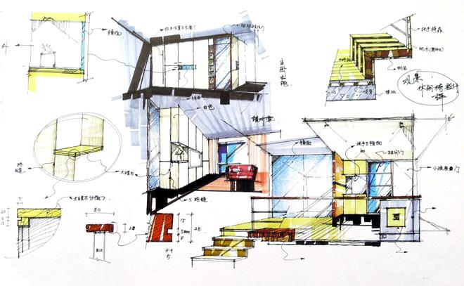透过室内设计表现技法让自己成为善用空间的魔法师,拥小坪数,享受大