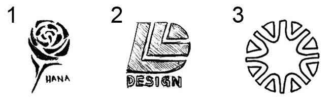 手绘班级标志设计图片展示